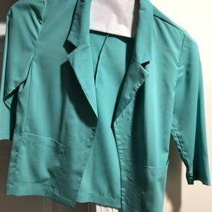 Super chic mint green blazer
